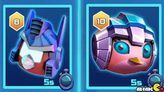 Angry Birds Transformers: New Area Unlocked Let