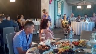 Супер поздравление от крёстной на свадьбе