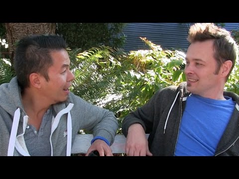 Ninjago Zane interviews Kai part 1/3 - the real voice actors!