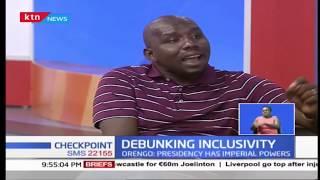 Debunking Inclusivity: Murkomen and Orengo on the issue of inclusivity |Checkpoint