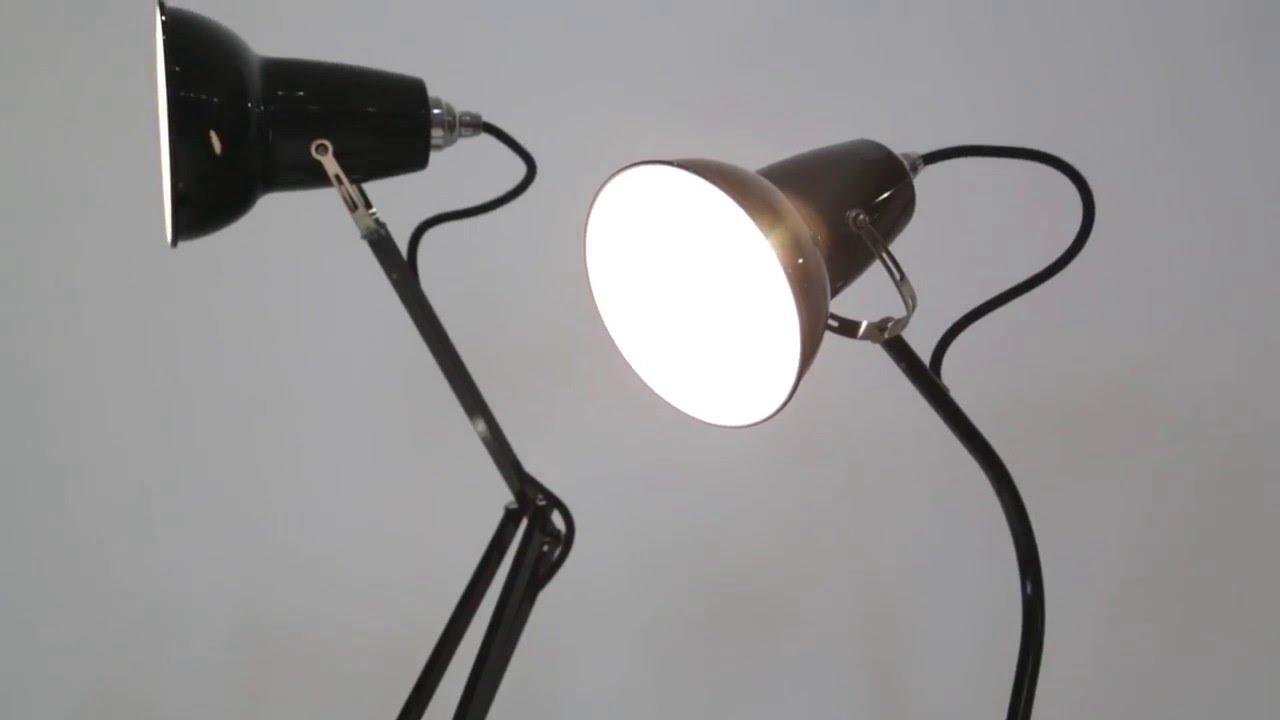 Anglepoise 1227 Mini Table Lamp Vs 1227 Mini Desk Lamp   YouTube