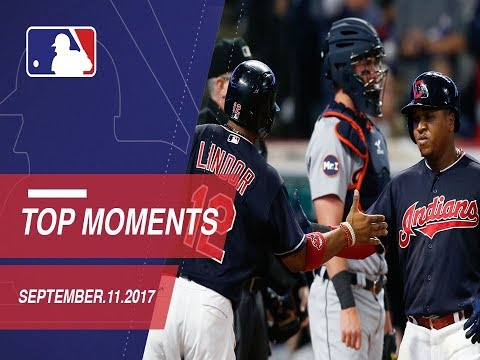 Lindor's huge triple plus nine moments from around Major League Baseball: 9/11/17