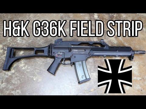 H&K G36 Rifle Field Strip