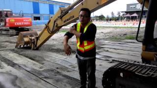 挖掘機靜態說明