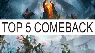 Top 5 Comeback in Dota 2 History
