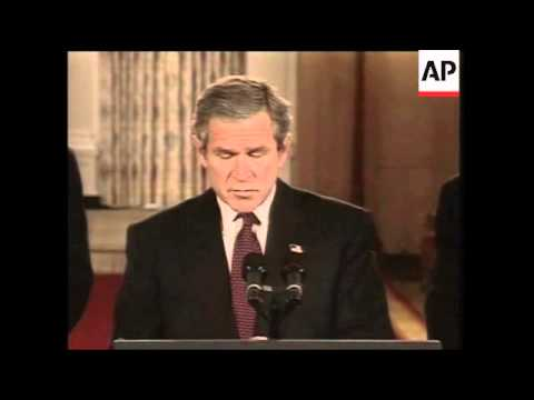 President Bush signs Homeland Security Bill