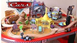 Buy Disney Cars Cadillac Range Racetrack 61 Piece Set By Kidkraft
