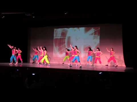 2014 Chinese School Performance Zumba