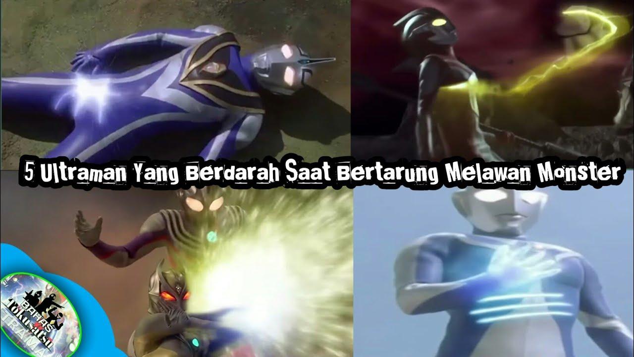 Ultraman Berdarah?5 Ultraman Yang Berdarah Saat Bertarung Melawan Monster