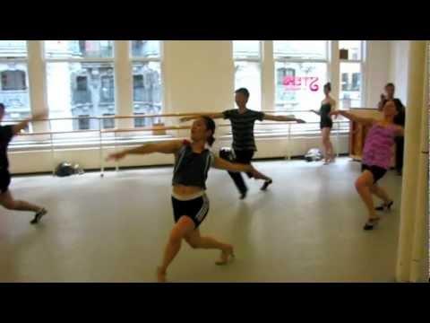 "Broadway Dance styles, NYC: @Chris_Liddell  ""Clap Yo Hands!"" at Steps on Broadway"