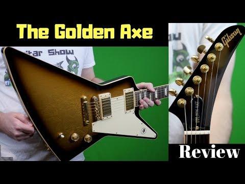 Thank You, Bill Kelliher! | 2013 Gibson Explorer Golden Axe Signature Goldburst | Review + Demo