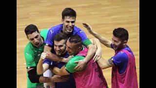 Highlights Futsal: Italia-Polonia 7-0 (22 gennaio 2018)