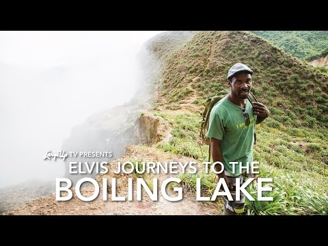 Beautiful Dominica: Elvis Journeys to the Boiling Lake | LargeUp TV