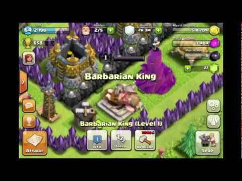 Clash Of Clans: Barbarian King Sleeping, New Unit