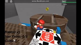 Super Mario 3D Roblox World Complete World 5