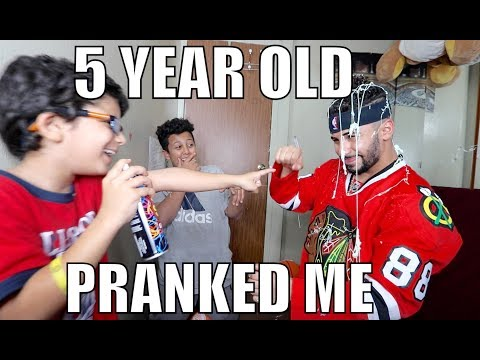 5 YEAR OLD PRANKED ME!!! **gone wrong**