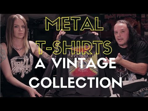 Metal T-Shirts - A Vintage Collection