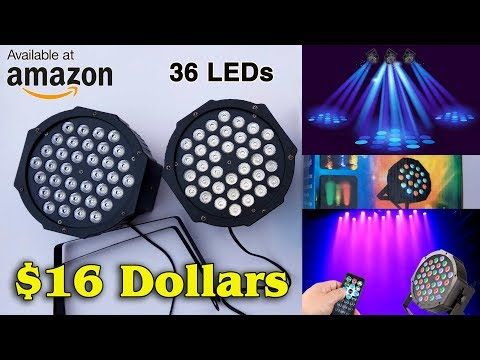 DJ Lights 36 LEDs | Best Offer On Amazon