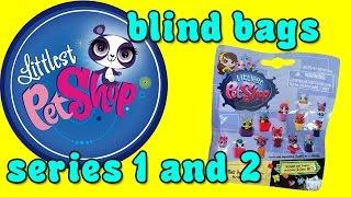 Littlest Pet Shop Blind Bags - Series 1 & Series 2