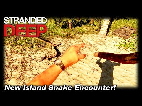 New Island Snake Encounter! | Stranded Deep Gameplay | EP 10 | Season 1