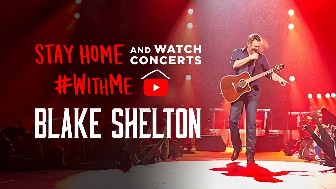 Blake Shelton – Live: It's All About Tonight (2010 Concert Special) #StayHome #WithMe