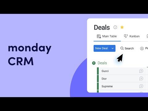 monday.com as a CRM