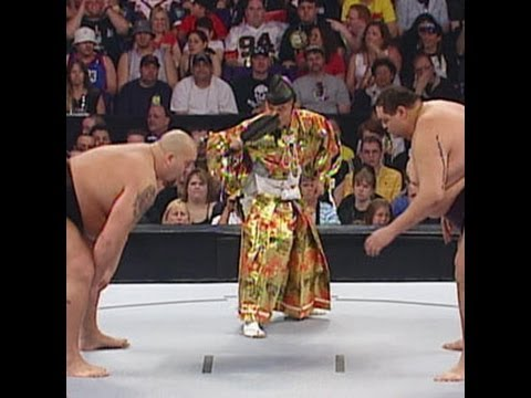 Thumbnail: Big Show attempts to overpower sumo champion Akebono at