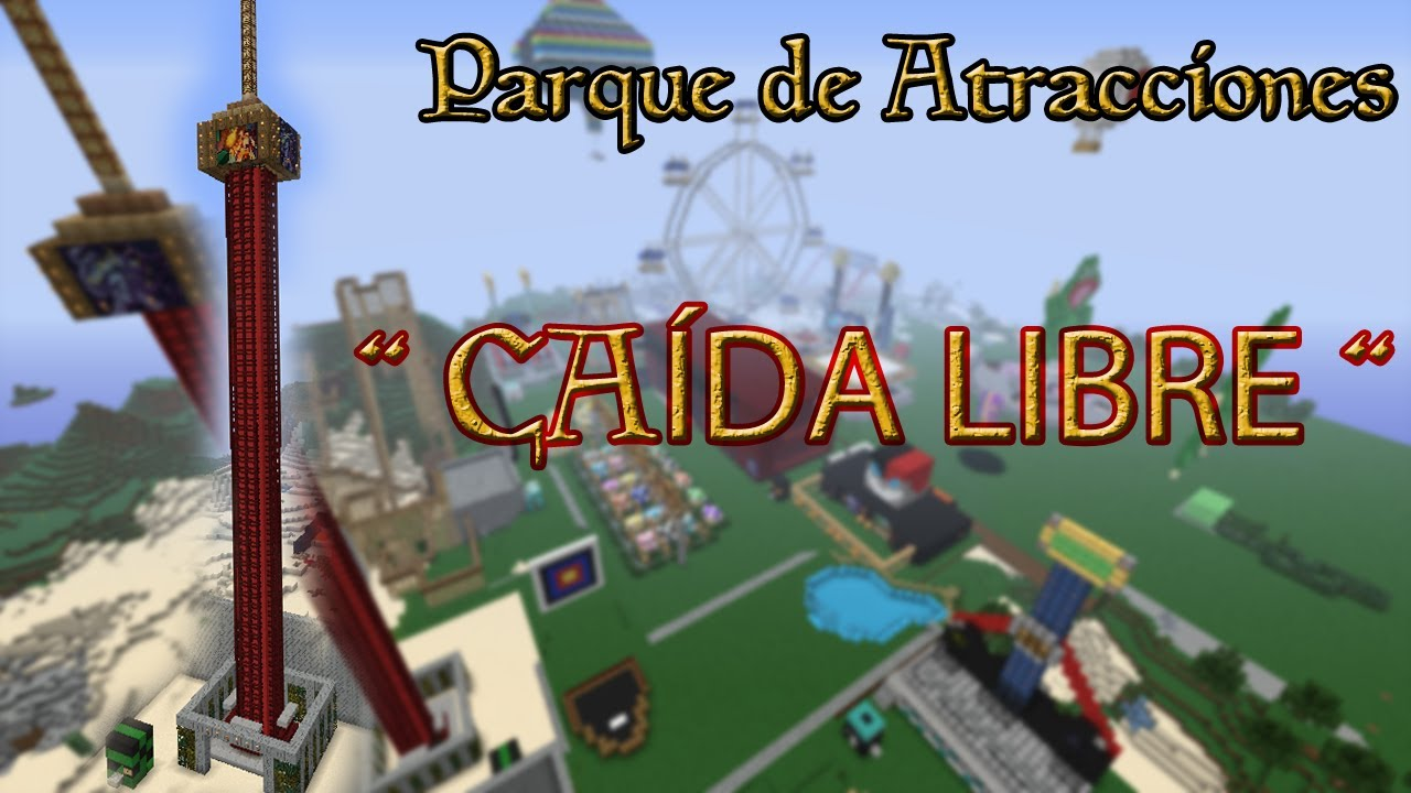 Parques de diversiones en minecraft tutorial furniture ...