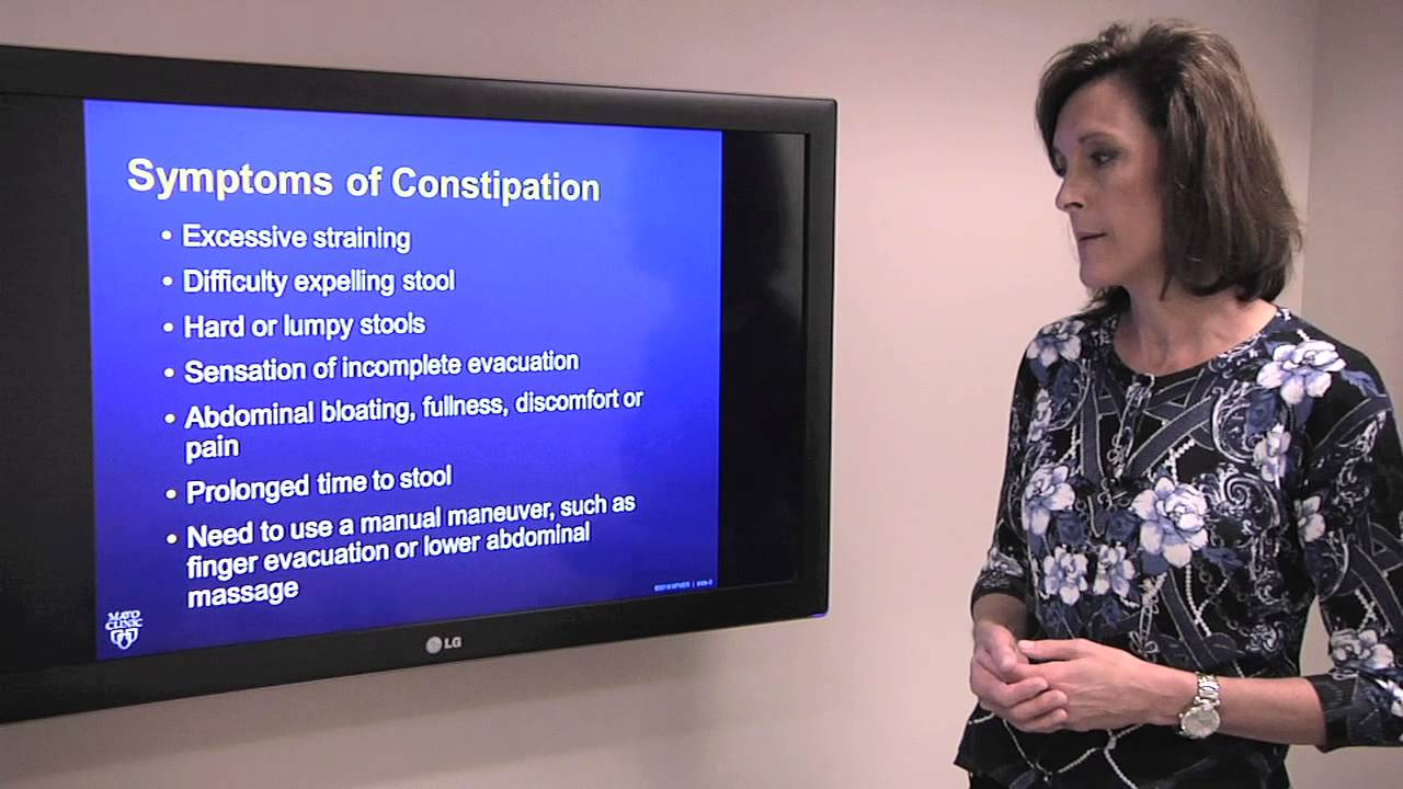 Download Constipation: Causes and Symptoms - Mayo Clinic