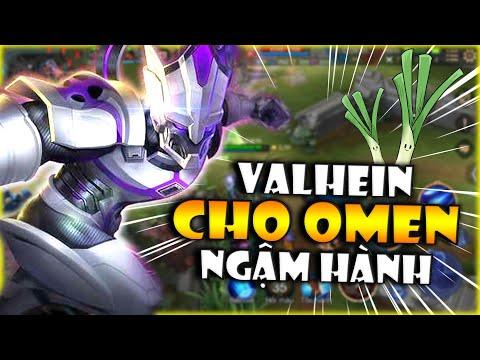 Liên Quân | Valhein Cho Omen Ngậm Hành Cả Củ Khi Solo Đường - Omen Khóc Thét Cả Ván Vẫn Thua