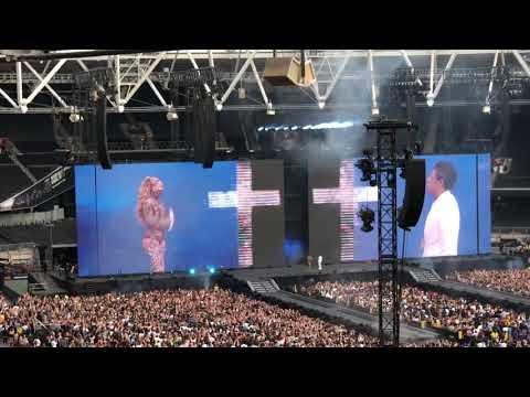 On the Run 2 Tour - Intro / Holy Grail - London Stadium, June 15, 2018