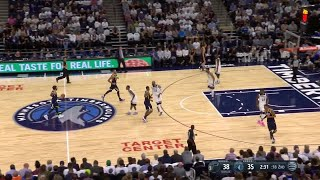 Quarter 2 One Box Video :Timberwolves Vs. Jazz, 10/19/2017