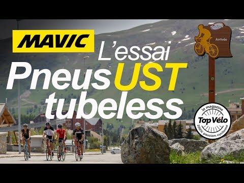 Image de la vidéo Pneus Mavic Tubeless UST - 2ème partie : Les essais des lecteurs !