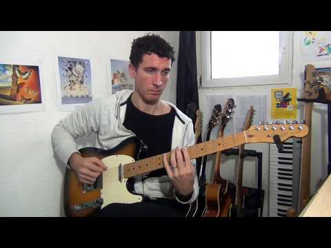 Sebastien Zunino - Guitariste Francais - Neo Soul Guitar