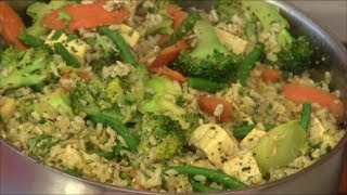 Cashew Veggie Fried Rice