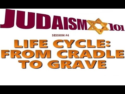 THE LIFE CYCLE OF JUDAISM: From Cradle to Grave - Rabbi Michael Skobac - Jews for Judaism