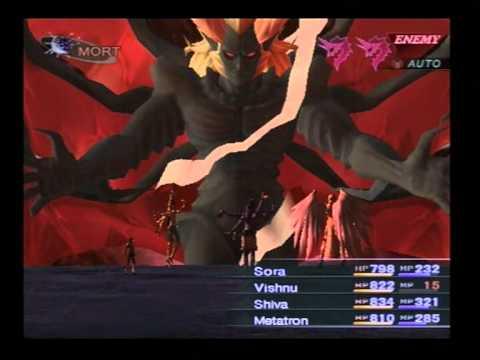 Shin Megami Tensei: Lucifers Call(Nocturne) - TDE hard mode - Lucifer boss battle