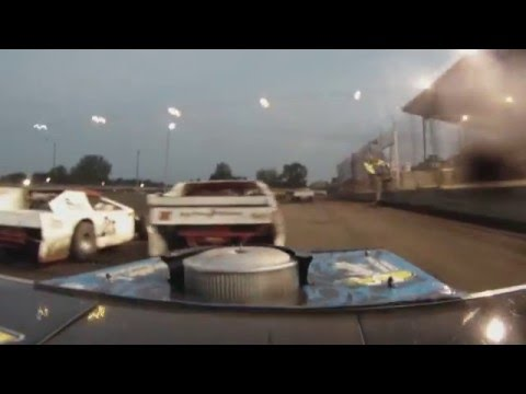 Algona Raceway - Jake Simpson B-Mod Feature 8-7-2010