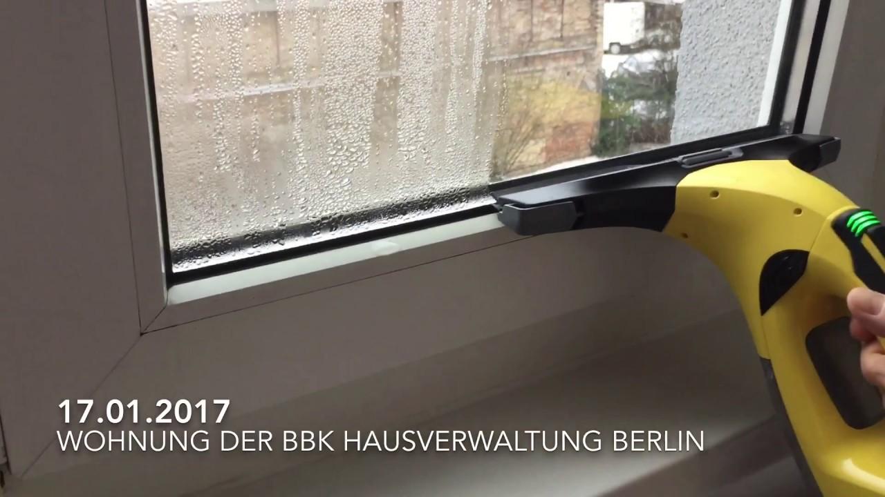 Bevorzugt BBK, KJK Hausverwaltung Berlin Britz - Blinde Fenster bei -3 Grad DV94