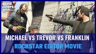 GTA V - Michael VS Trevor VS Franklin