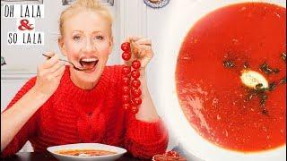 Diese Suppe kann was * Vitamin C + E * für straffe Haut * schützt Prostata & Herz