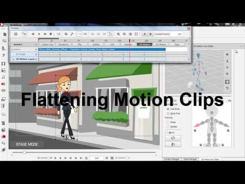 CrazyTalk Animator 2 Tutorial - Basic Timeline Editing