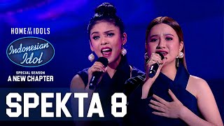 Download ANGGI X RIMAR - CINTA (Melly Goeslaw ft. Krisdayanti) - SPEKTA SHOW TOP 6 - Indonesian Idol 2021