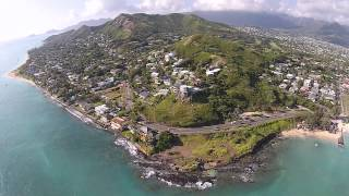 A Day in the Life - Aerial View of My Kailua