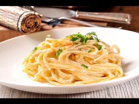 Espagueti alfredo spaghetti alfredo youtube for Plato de espaguetis