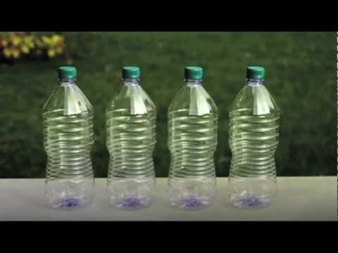 Come riutilizzare una bottiglia di plastica youtube