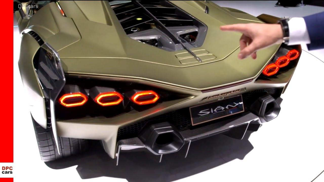 Lamborghini Sian FKP 37 Explained