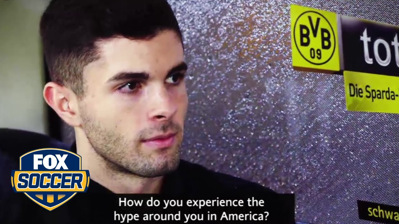 Christian Pulisic on managing the hype that follows him | FOX SOCCER