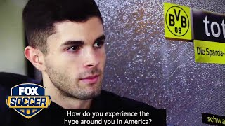 Christian Pulisic on managing the hype that follows him   FOX SOCCER