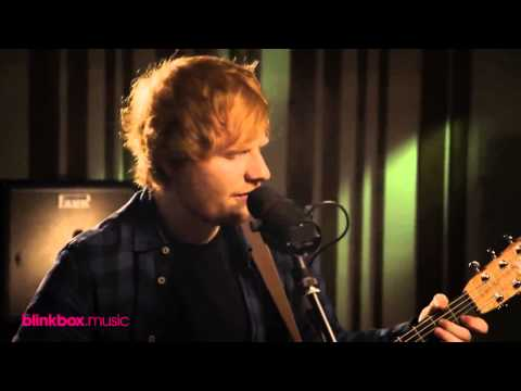 Ed Sheeran - Afire love acoustic live
